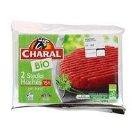 3181232220163 - Charal - Steak haché 15% Mat.gr bio