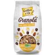 3421557920363 - Grillon Or - Granola banane chocolat noir noix de pécan bio