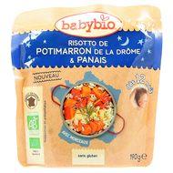 3288131570563 - Babybio - Risotto de Potimarron de la Drôme & Panais bio, dès 12 mois