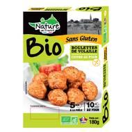 3422210440563 - Nature De France - Boulette cuite de volaille Bio