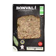 3760099535063 - Bonval - Pâté de Campagne Breton Bio, IGP