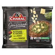 3181238962364 - Charal - Haché gourmand dont 40g basilic & parmesan