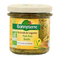 3396411224164 - Bonneterre - Tartinade bio petit pois basilic