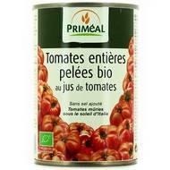 Priméal - Tomates Pelées entière, Bio