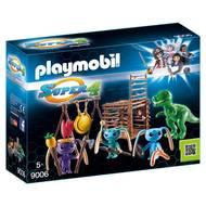 4008789090065 - PLAYMOBIL® Super 4 - Tribu d'Alien avec tyrannosaure