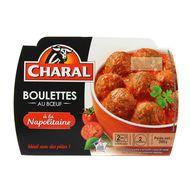 3181238930165 - Charal - Boulettes au bœuf a la napolitaine