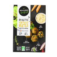 3760257090465 - Bouchées Vertes - Boulettes bio lentilles vertes carottes oignons