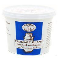 3760074380565 - Ferme de Viltain - Fromage blanc lisse 0% Mat.gr