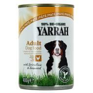 8714265270765 - Yarrah - Paté poulet bio pour chien adulte