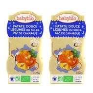 2050000312465 - Babybio - Patate Douce & Légumes du soleil bio, dès 8 mois