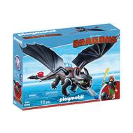 4008789092465 - PLAYMOBIL® Dragons - Harold et Krokmou
