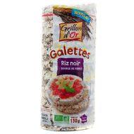 3421557904165 - Grillon Or - Galettes au riz noir bio