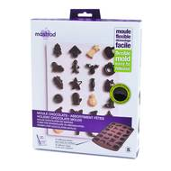 3485990484165 - Mastrad - Moule chocolats 24 formes fêtes