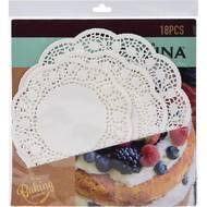 8711295757365 - La cucina - 18 Napperons dentelle en papier