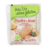 3380380080166 - Ma Vie Sans Gluten - Poudre à lever Bio et sans gluten