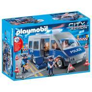 4008789092366 - PLAYMOBIL® City Action - Fourgon de policiers avec matériel