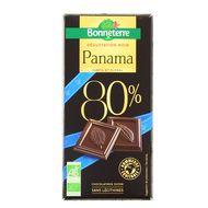3396410047566 - Bonneterre - Chocolat Noir bio Panama 80% de Cacao