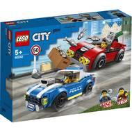 5702016617566 - LEGO® City - 60242- La course-poursuite sur l'autoroute