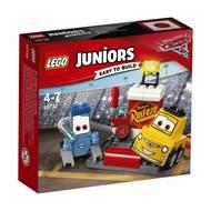 5702015868266 - LEGO® Juniors - 10732- L'arrêt au stand de Guido et Luigi- Cars