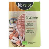4000915040067 - BioVerde - Calabrese bio, saucisson italien au fenouil, sans sel nitrité