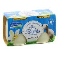 3375610000267 - Biochamps - Yaourt bio vanille au lait de brebis