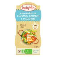3288131520667 - Babybio - Printanière de légumes, saumon & macaroni bio dès 12 mois