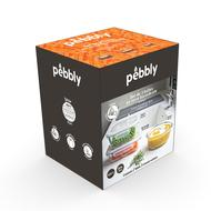 3760132812267 - Pebbly - Set de 3 boites en verre