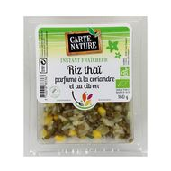3760018883367 - Carte Nature - Riz Thaï parfumé à la coriandre et au citron, Bio