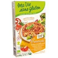 3380380057267 - Ma Vie Sans Gluten - Galettes à poeler provencal sarrasin & Lentilles corail, sans Gluten, Bio