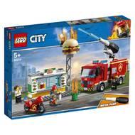 5702016369267 - LEGO® City - 60214- L'incendie dans le fast food
