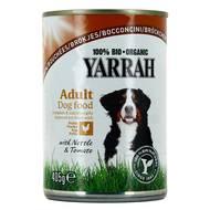 8714265071768 - Yarrah - Bouchées poulet bio pour chiens adulte