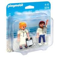 4008789092168 - PLAYMOBIL® Family Fun - Duo Hôte et hôtesse de croisière