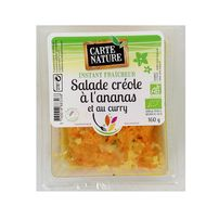 3760018883268 - Carte Nature - Salade créole à l'ananas et au curry, Bio