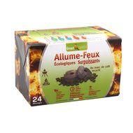 3770004706068 - Smart & green - Allume-feux écologiques surpuissants au marc de café recyclé