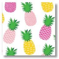 5412931046968 - codima - Serviettes Ananas Pink 25 x25 cm
