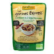 3431590008768 - Danival - 2 céréales et 2 légumineuses bio, les graines express