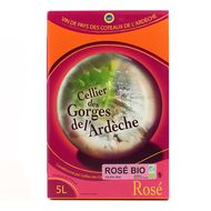 3760181040369 - Cellier des georges de l''Ardeche - Ardeche rosé IGP BIO