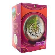 3760181040369 - Ardéche Rosé Bio - Cellier des gorges de l''Ardèche