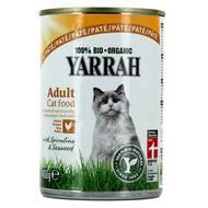 8714265270369 - Yarrah - Paté bio au poulet pour chat adulte