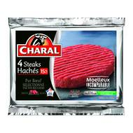 3181232220569 - Charal - Steak haché  15%m.g