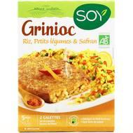 3259011010769 - Soy - Grinioc Riz, petits légumes & safran bio