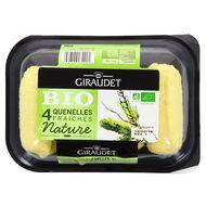 3100080001069 - Giraudet - 4 Quenelles Fraiche Nature, Bio