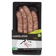 3507170901269 - Rostain - Chipolatas bio x4
