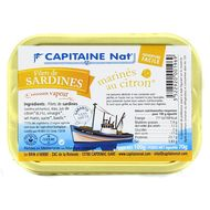 3522920001969 - Capitaine Nat - Filet de sardine mariné au citron bio