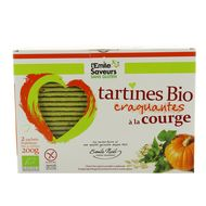 3291960012869 - L'Emile Saveur - Tartine bio à la courge sans gluten