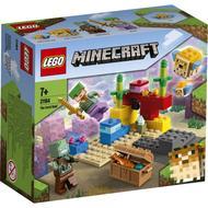 5702016913569 - LEGO® Minecraft - 21164- Le récif corallien