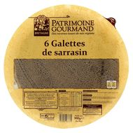 Patrimoine Gourmand - 6 Galettes de sarrasin nature