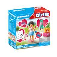 4008789705969 - PLAYMOBIL® City Life - Jeune fille stylée