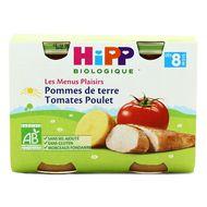 4062300056169 - Hipp - Pommes de terre Tomates Poulet bio, dès 8 mois