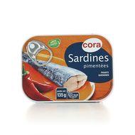 Cora - Sardines pimentées